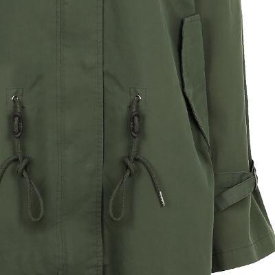 string detail long jumper khaki 1